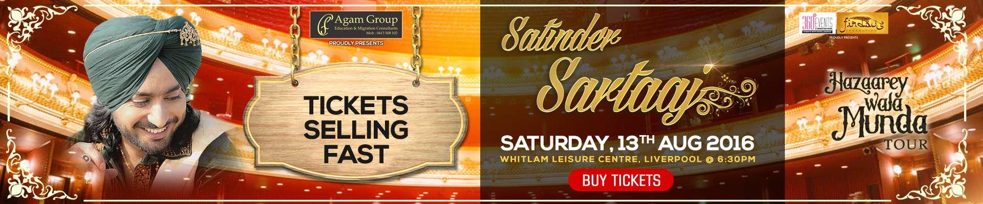 Satinder Sartaaj Live In Sydney 2016