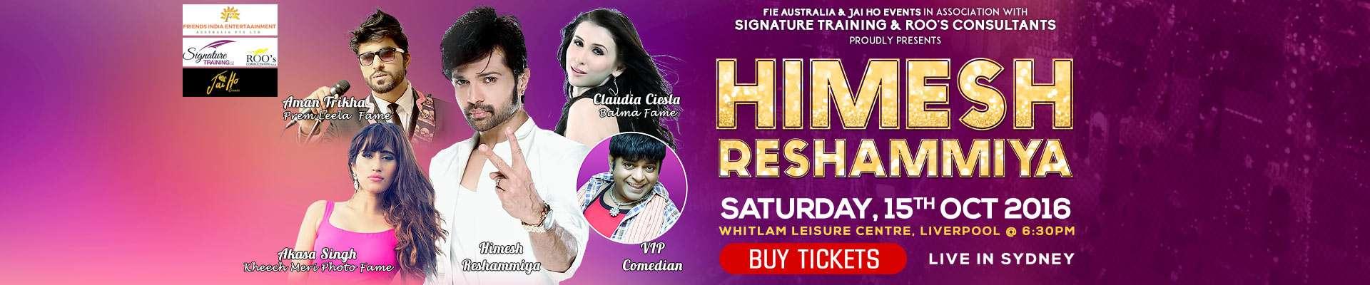 Himesh Reshammiya Live In Sydney 2016