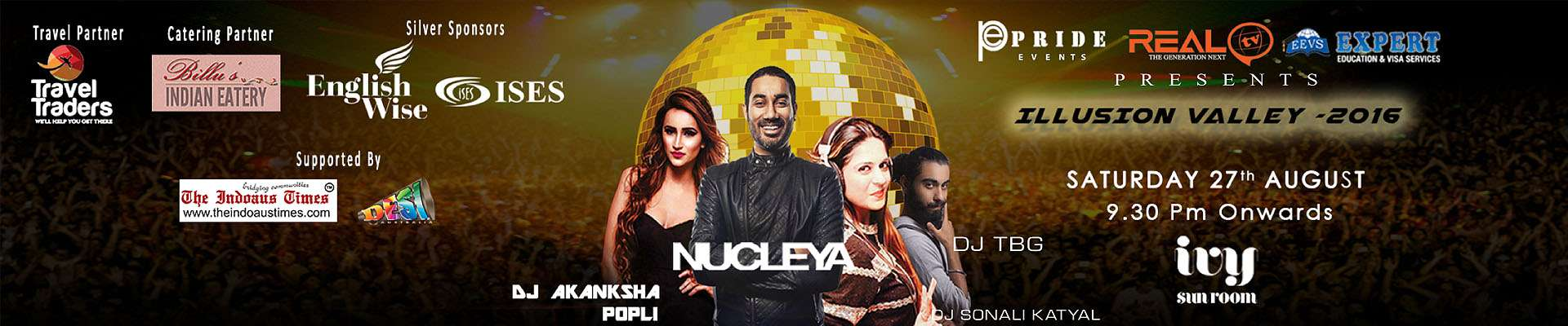 Nucleya Live In Sydney - Illusion Valley - 2016