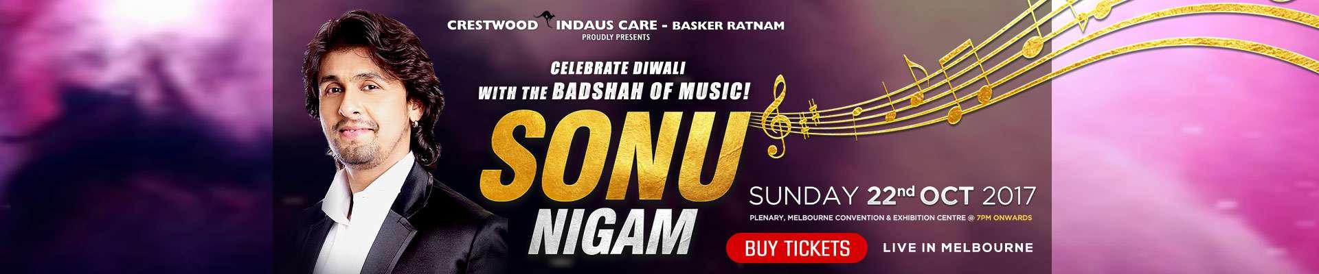 Sonu Nigam Live In Melbourne 2017 - DryTickets.com.au