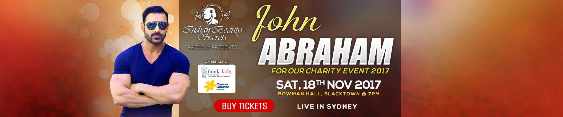 John Abraham - Charity Event 2017