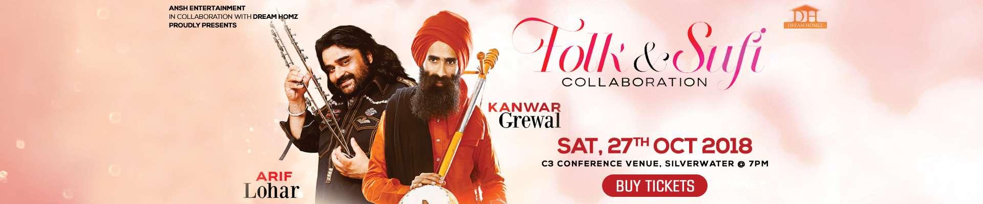 Folk & Sufi Collaboration Arif Lohar & Kanwar Grewal In
