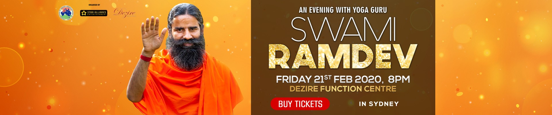 An Evening with Yoga Guru Swami Ramdev