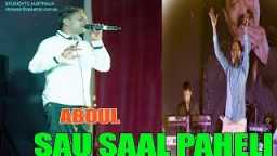 Abdul Live Mohd. Rafi Night 2015 Fiji's Dual Voice Singer Song Sau Saal Pehle