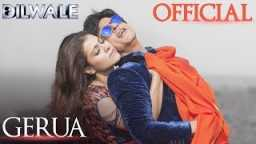 Arijit Singh new song Gerua movie Dilwale