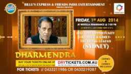 Living Legend Bollywood Actor Dharmendra Meet & Greet In Sydney