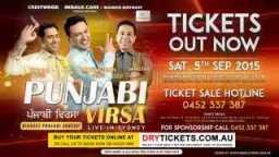 Manmohan Waris, Kamal Heer, Sangtar in Punjabi Virsa 2015 Sydney Concert