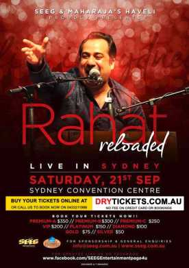 Rahat Reloaded Live In Sydney 2013