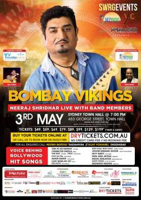 Bombay Vikings Live In Sydney