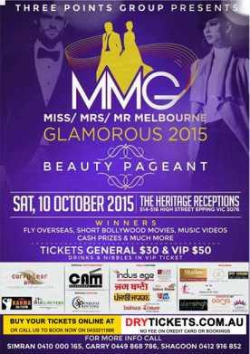 Miss Mrs Mr Melbourne Glamorous 2015