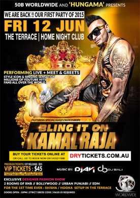 Kamal Raja Live In Sydney