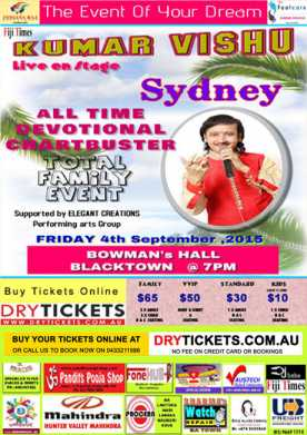 Kumar Vishu Live In Sydney