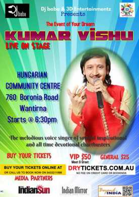 Kumar Vishu Live In Melbourne