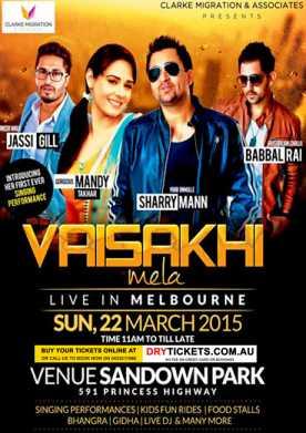 Vaisakhi Mela Live In Melbourne