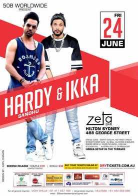 Hardy Sandhu & Ikka Live in Sydney