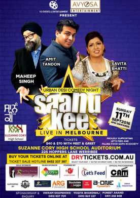 Saanu Kee Urban Desi Comedy Night