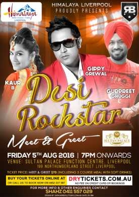 Meet & Greet Desi Rockstar Live In Sydney