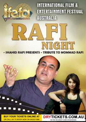 Shahid Rafi - Tribute to Mohammed Rafi