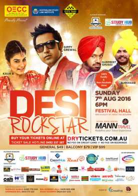 Desi Rockstar Live in Melbourne 2016
