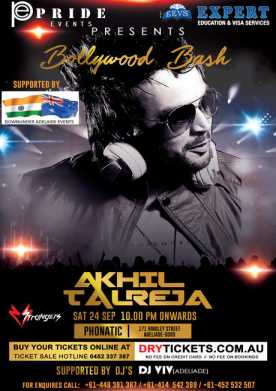Bollywood Bash - DJ Akhil Talreja Live In Adelaide