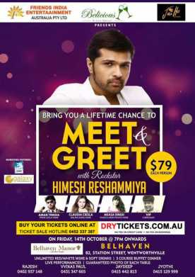 Meet & Greet with Rockstar Himesh Reshammiya