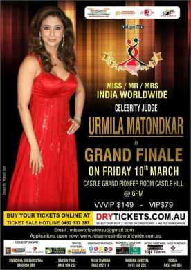 Miss/Mr/Mrs India Worldwide 2017 GRAND FINALE In Sydney