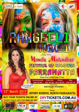 Holi Mela 2017 - Festival Of Colours Parramatta