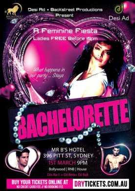 Bachelorette - A Feminine Fiesta