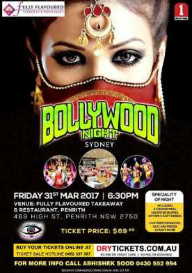 Bollywood Night In Sydney 2017