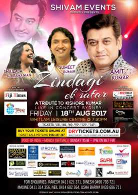 Zindagi Ek Safar by Living Legend Amit Kumar