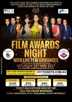 Film Awards Night with Live Performances IFFAA 2017