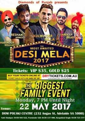 Desi Mela 2017 - Live In Adelaide