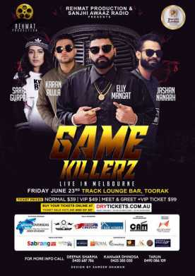 GAME KILLERZ - Elly Mangat In Melbourne