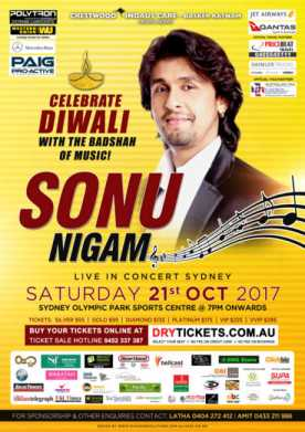 Sonu Nigam Live In Sydney 2017