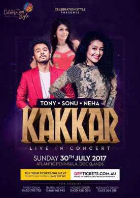 Neha Sonu Tony Kakkar Live In Concert Melbourne
