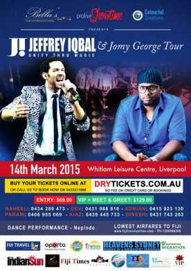 Jeffrey Iqbal & Jomy George Tour