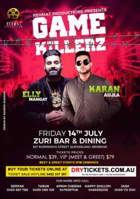 GAME KILLERZ - Elly Mangat In Brisbane