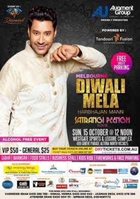 Melbourne Diwali Mela - Harbhajan Mann Live