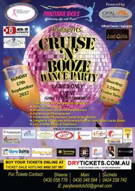 Cruise 'N' Booze Dance Party In Sydney