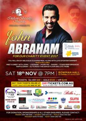 John Abraham - Charity Event 2017
