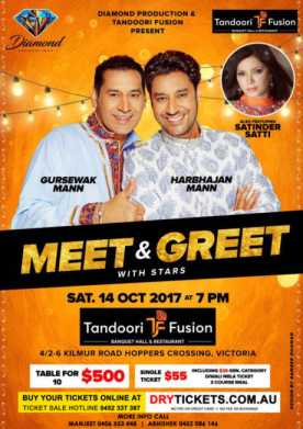 Meet n Greet With Harbhajan Mann In Melbourne
