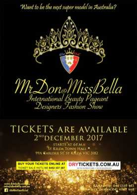 Mr Don & Miss Bella - International Beauty Pageant Show