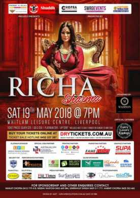 Sufi Queen Richa Sharma Live In Concert Sydney 2018