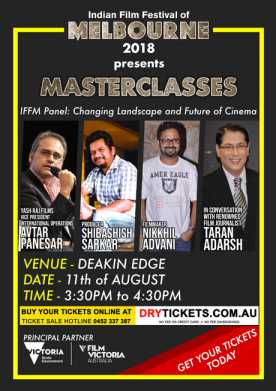Master Classes - Changing Landscape Future of Cinema