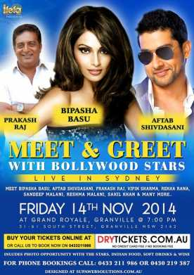 Meet & Greet with Bipasha Basu