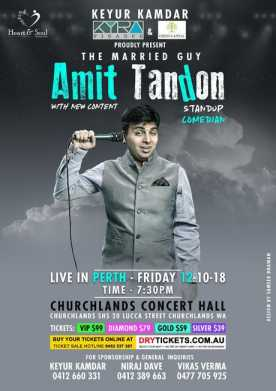 Amit Tandon Live In Perth 2018