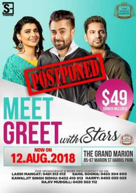 Meet & Greet with Sharry Mann, Nimrat Khaira & Kartar Cheema