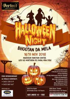 Halloween Party With The Bhoothnath In Sydney