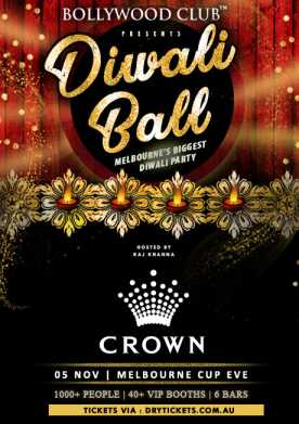 Diwali Ball - Melbourne's Biggest Diwali Party