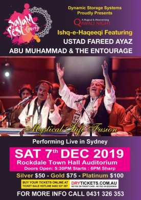 Salam Fest 2019 - Qawali Night In Sydney